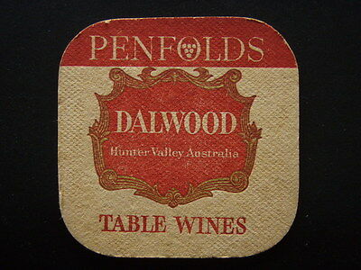 Penfolds Dalwood Table Wines Hunter Valley Australia Coaster