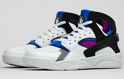 Nike Air Flight Huarache PRM QS Fab Five Kyrie kyrache White Blue Berry Men's 11