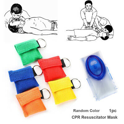 Tools Artificial respiration CPR Resuscitator Mask Emergency Aid Face Shield
