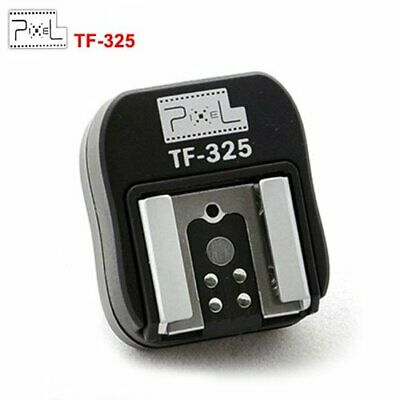 Pixel Hot Shoe Adapter TF-325 For Sony TTL sled Flash converter PC socket Sync