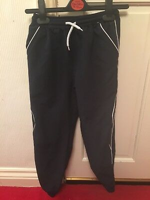 Matalan School Life Navy Sports Joggers Age 8 Years
