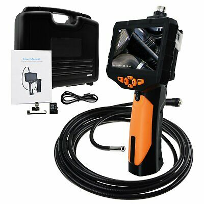 """HD Inspection Camera 5M Cable Endoscope Borescope Video 4.3"""" LCD w/ 1W CREE LED"""