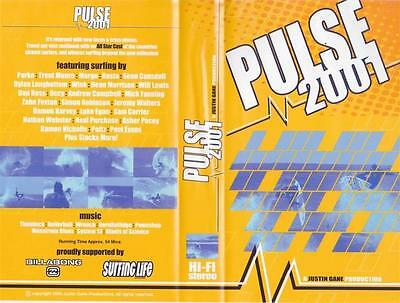 Surfing  Pulse  2001 Vhs Video Pal~ A Rare Find