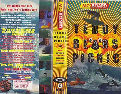 Surfing Teady Bears Picnic  Mc Board Vhs Video Pal A Rare Find