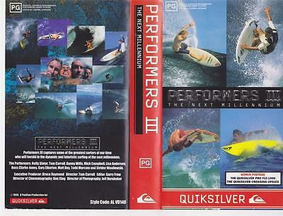 Surfing ~Performers 111 Vhs Pal Video~ A Rare Find
