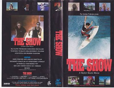 Surfing~The Show Vhs Video Pal~ A Rare Find