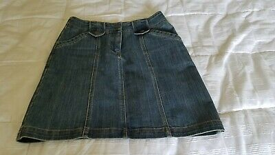 baf7d57199cb Jones New York Skirt Size 4 Signature Jeans Denim Women's Mini Pockets Med  Blue