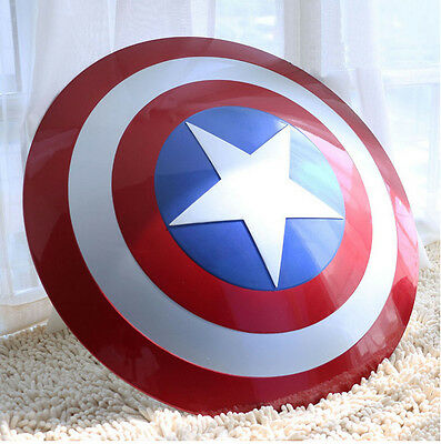 Captain America Scudo Scala 1:1 Abs - Cosplay Avengers No Marvel Capitan Endgame