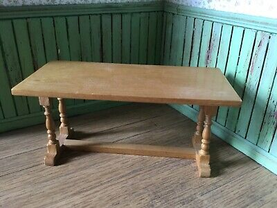 1:12 Scale Pine Refectory Table