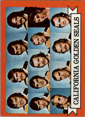 1973-74 Topps #95 Golden Seals Team DP - EX