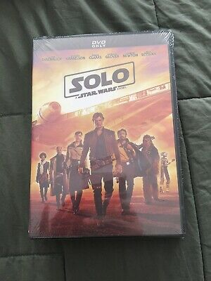 Solo A Star Wars Story Brand New Disney DVD Free Shipping 2018 PG-13