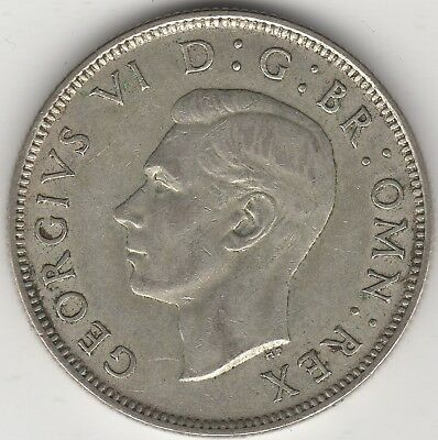 1944 George VI Silver Two Shillings | Pennies2Pounds