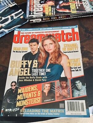 Dreamwatch Mag #106 July 2003. Buffy / Andromeda / Stargate / Dead Zone etc