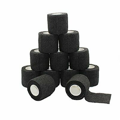 Fuluning, 12-pack, 5,1 cm x 4,6 m, self-adherent Cohesive tape, Strong nastro