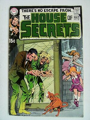 HOUSE OF SECRETS no.85 May 1970 DC comics Neal Adams cover
