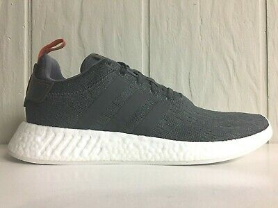 7bd663a7e4fb1 ADIDAS NMD R2 GREY GREY FUTURE Harvest Men s Running Shoes BY3014 ...