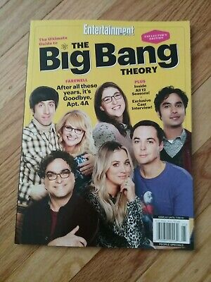 Entertainment Weekly  collector's edition Big Bang theory it's goodbye, apt. 4A