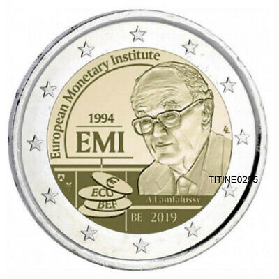 2 Euro Belgique 2019 **Piece Bu ** Dispo * Institut Monetaire Europe ( Emi )