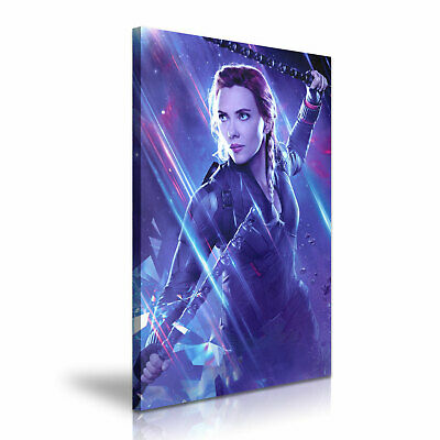 Avengers Black Widow Stretched Canvas ~ More Size