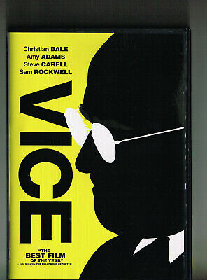 Vice (Dvd, 2018) Christian Bale Amy Adams Watched Once!