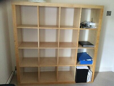 premium selection da271 4561c IKEA KALLAX SHELVING unit oak