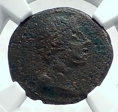 Sparta Lakedaimon in Lakonia RARE 35BC Authentic Ancient Greek Coin  NGC i77647