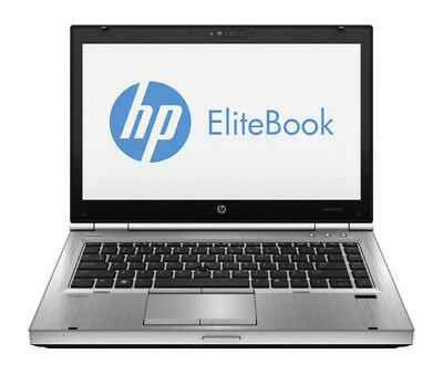 HP EliteBook 8470p Laptop PC Windows 10 4gb RAM 320gb HD Intel Core I5 2.6ghz