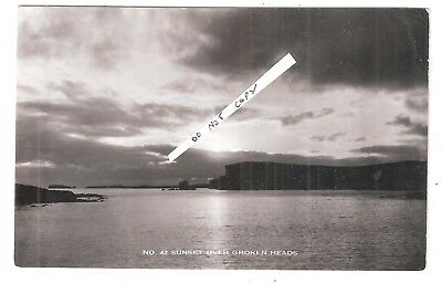 RP Hillswick Shetland 1965? Postmark on Broken Sunset Over Groken Heads Scotland