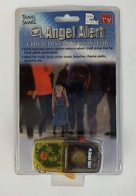 Child Distance Monitor Alarm System Package Travel Smart Angel Alert NEW in Box