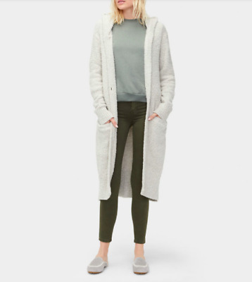 174874fd142 UGG JUDITH SWEATER Knit Hooded Slouchy Cardigan 1018774 Driftwood ...