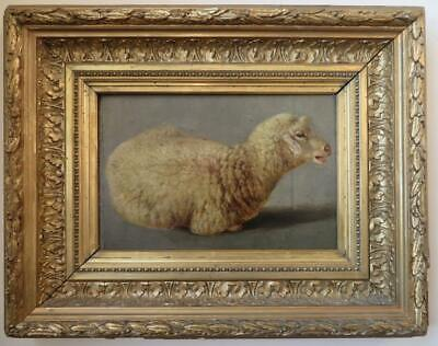 Attr. ROSA BONHEUR (1822-99) French / Dutch FINE ANTIQUE OIL PAINTING of a lamb