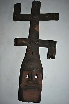 """orig $499-DOGON SATIMBE MASK!! EARLY 1900S REAL 20"""" PROV."""