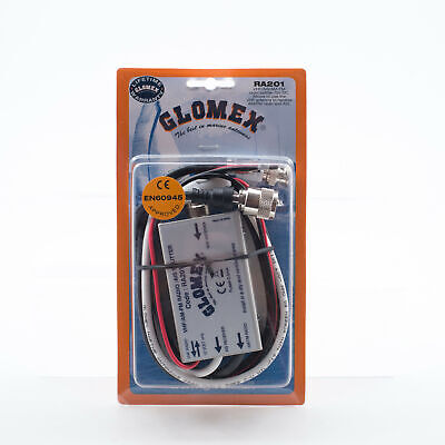 Glomex VHF, AM-FM and AIS Antenna Splitter RA201 Marine, Boat or Yacht