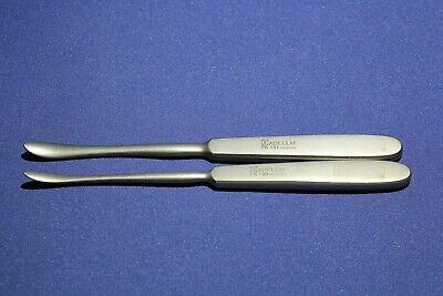 Aesculap Elevator Langenbeck Quervain FK 133 FK 131 Lot of 2 Surgical periosteal