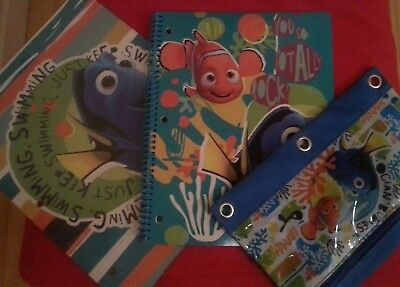 Cars Lightning McQueen #95 Red Spiral Notebook Single Subject Lot of 2 red