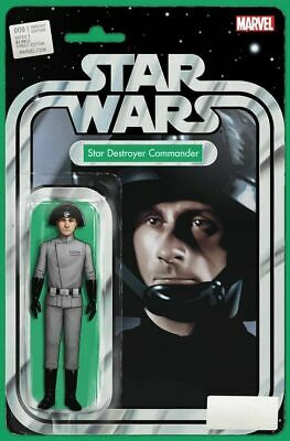 Marvel Comics STAR WARS #9 John Tyler Christopher Figure Variant VF/NM (2015)