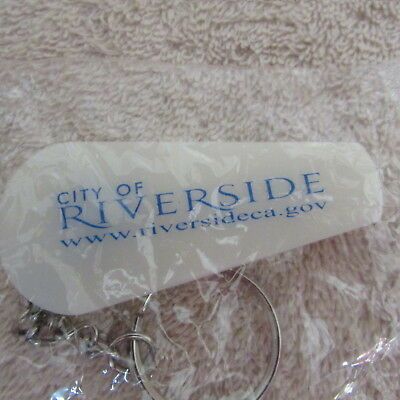 City Of Riverside Collectible Key Chain Whistle