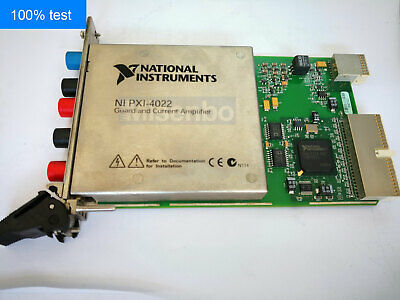 100% TEST National Instruments NI PXI-4022 Amplifier Module