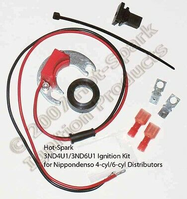 3hit6u1 electronic ignition conversion kit for 6 cylinder hitachielectronic ignition conversion replaces points in 6 cylinder toyota distributor