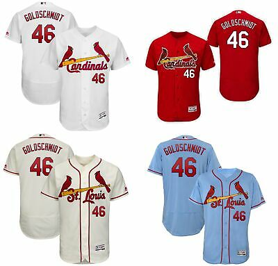 5108b46f NWT MEN'S ST. Louis Cardinals Paul Goldschmidt #46 jersey M-3XL ...