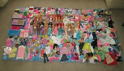 800+ Piece COLLECTION LOT Clothes Accessories Dolls Furniture Fits Barbie & MORE