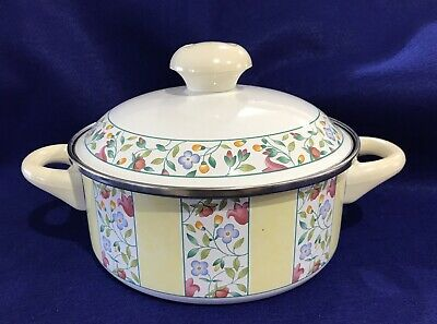 Villeroy & Boch VIRGINIA 3 QT Enamelware Metal Soup Chili Made in Germany