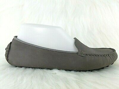 98d18813eccbe COLE HAAN Grand OS Womens Gray Leather Slip On Driving Loafers Shoes Size 6.5  B