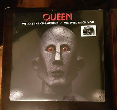 Queen-We Are The Champions Lt. 2017 Black Friday Rsd Release Vinyl Ep Sealed