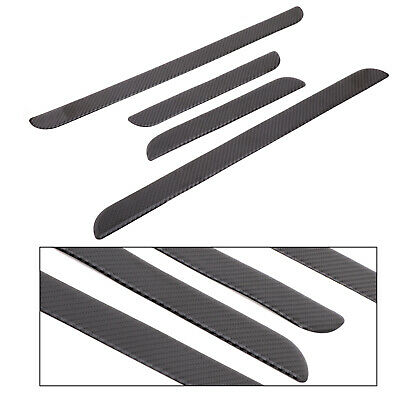 Carbon Fiber Side Door Sill Panel Plate Trim Para Honda Civic 10th 2016-2018 ES