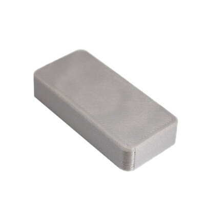 *NEW* Magnetic Cover Plate Bison Tube Geocache Cache Container + 3 Cache Logs!