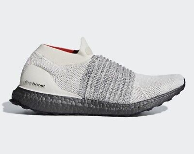952538622a184 Adidas Ultra Boost Laceless Slip On Running Shoes Men s Size 5 Beige White