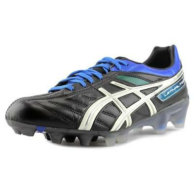 Asics Lethal Tigreor 4 IT Cleats Men Round Toe leather Black Cleats $140 sz 8 11