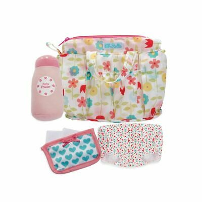 Manhattan Toy Baby Stella Delightful Diaper Bag Set Doll Accessories