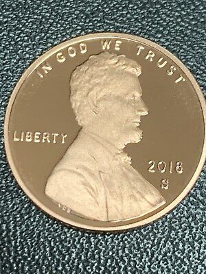 2018 S Lincoln Shield Cent Proof Deep Cameo 1¢ Penny
